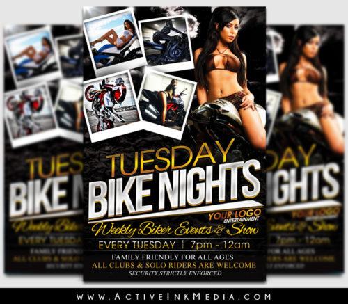 bike night flyer