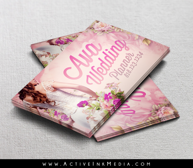 Wedding planner event coordinator business card template active homeall design templates wedding planner event coordinator business card template cheaphphosting Choice Image