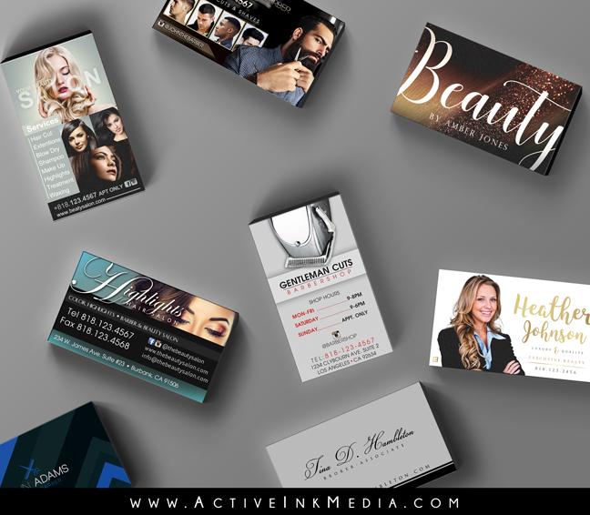 Full business card high quality custom design active ink media business cards colourmoves