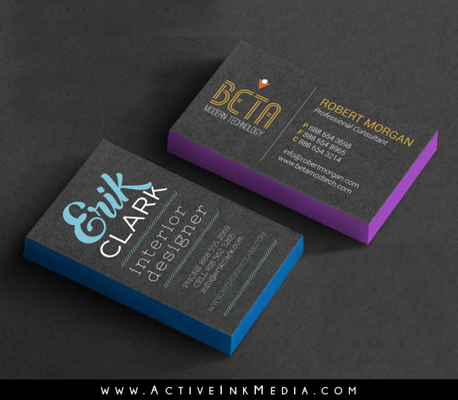 Edge ultra thick 32pt business cards active ink media edge business card colourmoves Gallery