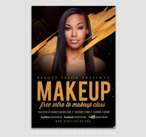 make up flyer
